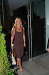 Lizzie Grubman departs from  a benefit in Manhattan on October 17, 2001.