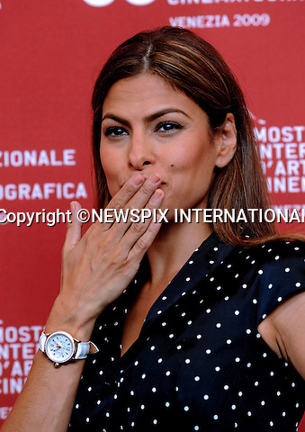"EVA MENDES.Bad Lieutenant - Port of Call New Orleans, at the  66th Venice Film Festival , Venice_04/09/2009.Mandatory Credit Photo: ©NEWSPIX INTERNATIONAL..**ALL FEES PAYABLE TO: ""NEWSPIX INTERNATIONAL""**..IMMEDIATE CONFIRMATION OF USAGE REQUIRED:.Newspix International, 31 Chinnery Hill, Bishop's Stortford, ENGLAND CM23 3PS.Tel:+441279 324672  ; Fax: +441279656877.Mobile:  07775681153.e-mail: info@newspixinternational.co.uk"