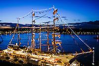 Sweden, Stockholm. Tall Ships Race Stockholm 2007. Cuauhtémoc.