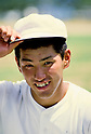 Kazuhiro Kiyohara (PL Gakuen), AUGUST 1985 - Baseball : Kazuhiro Kiyohara of PL Gakuen poses at PL Stadium in Osaka, Japan. (Photo by Katsuro Okazawa/AFLO)85 8 (PL) PL
