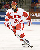 Sahir Gill (BU - 28) - The Boston University Terriers defeated the visiting Providence College Friars 2-1 on Saturday, October 23, 2010, at Agganis Arena in Boston, Massachusetts.