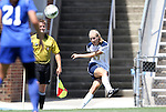 28 August 2011: Notre Dame's Brynn Gerstle. The Duke University Blue Devils defeated the Fighting Irish of Notre Dame 3-1 at Fetzer Field in Chapel Hill, North Carolina in an NCAA Women's Soccer game.