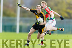 Gavin O'Shea Dr Crokes in Action against  Loughmore-Castleiney in the Munster Senior Club Semi-Final at Crokes Ground, Lewis Road on Sunday