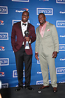 LOS ANGELES - JUL 11:  Vernon Davis, Patrick Willis in the Press Room of the 2012 ESPY Awards at Nokia Theater at LA Live on July 11, 2012 in Los Angeles, CA
