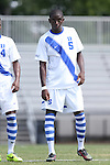 31 August 2014: Duke's Cameron Moseley. The Duke University Blue Devils hosted the Stetson University Hatters at Koskinen Stadium in Durham, North Carolina in a 2014 NCAA Division I Men's Soccer match. Duke won the game 8-2.