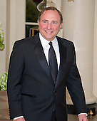 Gary Bettman, Commissioner, National Hockey League, arrives for the State Dinner in honor of Prime Minister Trudeau and Mrs. Sophie Gr&eacute;goire Trudeau of Canada at the White House in Washington, DC on Thursday, March 10, 2016.<br /> Credit: Ron Sachs / Pool via CNP
