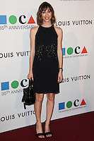 LOS ANGELES, CA, USA - MARCH 29: Gia Coppola at the MOCA's 35th Anniversary Gala Presented By Louis Vuitton held at The Geffen Contemporary at MOCA on March 29, 2014 in Los Angeles, California, United States. (Photo by Celebrity Monitor)