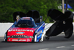 May 5, 2012; Commerce, GA, USA: NHRA funny car driver Bob Tasca III during qualifying for the Southern Nationals at Atlanta Dragway. Mandatory Credit: Mark J. Rebilas-