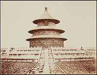 Very early photograph's of Peking in China.