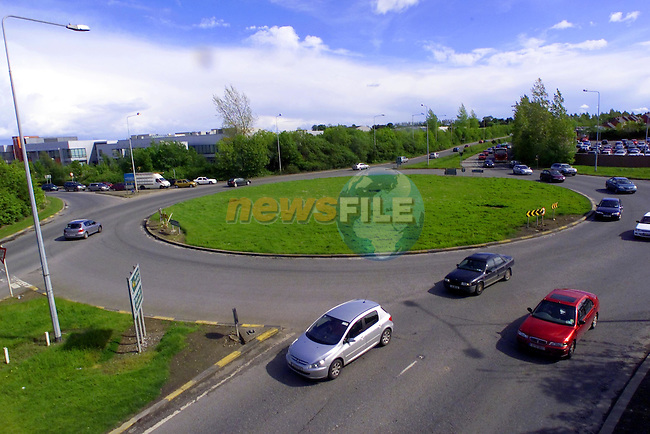 swords roundabout.Picture Newsfile...This Picture is sent to you by:..Newsfile Ltd.The View, Millmount Abbey, Drogheda, Co Louth, Ireland..Tel: +353419871240.Fax: +353419871260.GSM: +353862500958.ISDN: +353419871010.email: pictures@newsfile.ie.www.newsfile.ie