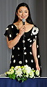 "Eiko Koike, Nov 29, 2011 : November : Tokyo, Japan, Japanese actress Eiko Koike appears at a press conference for the film ""Kita no Kanaria tachi"" in the Tokyo."