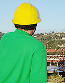 Stock photo of Project Manager at Construction site