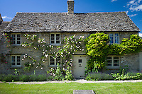 Quaint traditional cottage in Minster Lovell in The Cotswolds, Oxfordshire, UK