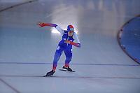 SCHAATSEN: GRONINGEN: Sportcentrum Kardinge, 17-01-2015, KPN NK Sprint, Annouk van der Weijden, ©foto Martin de Jong