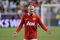 Wayne Rooney (10) of Manchester United. Manchester United defeated the MLS All-Stars 4-0 during the MLS ALL-Star game at Red Bull Arena in Harrison, NJ, on July 27, 2011.