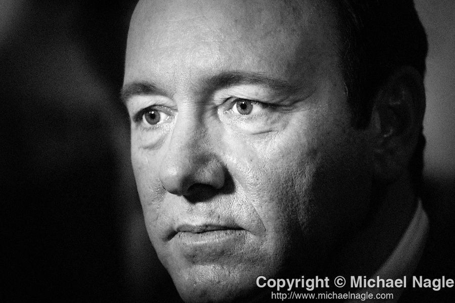 NEW YORK - SEPTEMBER 24: Actor Kevin Spacey on September 24, 2010 in New York City.   (PHOTOGRAPH BY MICHAEL NAGLE)