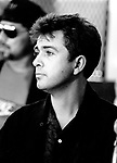 Peter Gabriel 1986 at Amnesty Press Conference<br />