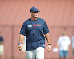 University of Mississippi began football practice on Sunday, August 8, 2010.