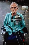 FRANCE-10057, France-Modern, Lourdes, France, 08/1988<br /> <br /> final print_MACRO<br /> <br /> PORTRAITS_APP