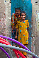 In the streets of Bikaner, Rajasthan, India