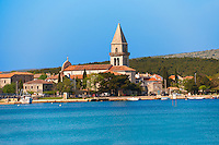 Campinale of the church of Osor Cres Island, Croatia