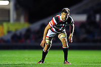 Mike Fitzgerald of Leicester Tigers looks on. European Rugby Champions Cup match, between Leicester Tigers and Racing 92 on October 23, 2016 at Welford Road in Leicester, England. Photo by: Patrick Khachfe / JMP