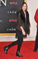 Amanda Donohoe at the &quot;The Crown&quot; TV premiere, Odeon Leicester Square cinema, Leicester Square, London, England, UK, on Tuesday 01 November 2016. <br /> CAP/CAN<br /> &copy;CAN/Capital Pictures /MediaPunch ***NORTH AND SOUTH AMERICAS ONLY***