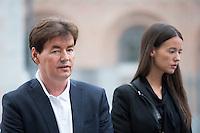 Bernard Wesphael - 1St day opening trial in Mons - Belgium