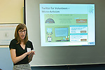 Amy Sample Ward, Social Media Consultant, speaks on the topic of Using Twitter to Recognize Volunteers and Build a Following at the Volunteer Management for Nonprofits Conference on March 25, 2011. The event was presented by Volunteer Management Group.