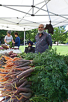 Fresh, local produce at the Sorauren farmers market in Toronto.