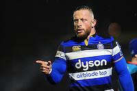 Max Lahiff of Bath Rugby. Anglo-Welsh Cup match, between Bath Rugby and Gloucester Rugby on January 27, 2017 at the Recreation Ground in Bath, England. Photo by: Patrick Khachfe / Onside Images