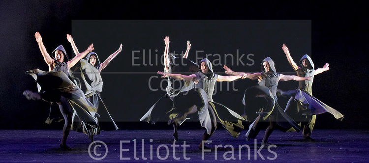 Sadler's Wells Sampled <br /> at Sadler's Wells, London, Great Britain <br /> press photocall / rehearsals <br /> 2nd February 2017 <br /> <br /> <br /> Northern Ballet <br /> Casanova <br /> <br /> <br /> <br /> Photograph by Elliott Franks <br /> Image licensed to Elliott Franks Photography Services