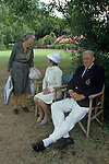 Croquet at the Hurlingham Club London England Open Championship in August . The English Season published by Pavilon Books 1987