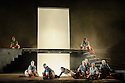 "English Touring Opera presents ""Iphigenie en Tauride"", by Christoph Willibald Gluck, directed by James Conway, with lighting design by Guy Hoare, at the Hackney Empire. Picture shows: The company"