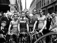Cycling - R&aacute;s Tailteann - 8 Day Cycle Race Around Ireland.01/08/1954..R&aacute;s Tailteann (Irish: R&aacute;s Tailteann, official name: An Post R&aacute;s) is an annual 8 day international cycling stage race, held in Ireland in May. Around Ireland, the race is referred to as The R&aacute;s. By naming the race R&aacute;s Tailteann the original organisers, members of the National Cycling Association (NCA), were associating the cycle race with the Tailteann Games an ancient Celtic sporting event in Ireland..The event was founded by Joe Christle in 1953 and was organised under the rules of the Republican-influenced organisation - the National Cycling Association(NCA). At that time competitive cycling in Ireland was deeply divided between three cycling organisations, the NCA, Cumann Rothaiochta na hEireann (CRE) and the Northern Ireland Cycling Federation (NICF) due to the issue of nationalism and the division of Ireland into Northern Ireland and the Republic. The NCA wished for a United Ireland and refused to recognise Northern Ireland or to confine their jurisdiction to the Republic of Ireland. The R&aacute;s Tailteann was the biggest race that the NCA organised each year.