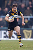 Dominic Waldouck of London Wasps RFC - London Wasps RFC vs Saracens RFC - Aviva Premiership Rugby at Adams Park, Wycombe Wanderers FC - 12/02/12 - MANDATORY CREDIT: Ray Lawrence/TGSPHOTO - Self billing applies where appropriate - 0845 094 6026 - contact@tgsphoto.co.uk - NO UNPAID USE.