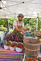 Matchbox Gardens  produce at Sorauren farmers market in Toronto