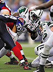 3 December 2009: New York Jets' running back Thomas Jones in action against the Buffalo Bills at the Rogers Centre in Toronto, Ontario, Canada. The Jets defeated the Bills 19-13. Mandatory Credit: Ed Wolfstein Photo