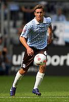 Fussball 2. Bundesliga:  Saison   2012/2013,    6. Spieltag  TSV 1860 Muenchen - Eintracht Braunschweig  23.09.2012 Kai Buelow ( 1860 Muenchen)