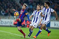 Real Sociedad and Futbol Club Barcelona