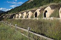 Old coke ovens in Redstone, Colorado
