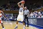 21 December 2007: Duke's Wanisha Smith. The Duke University Blue Devils defeated the Bucknell University Bisons 92-49 at Cameron Indoor Stadium in Durham, North Carolina in an NCAA Division I Women's College Basketball game.