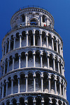 Leaning Tower and Tourists, Pisa, Italy