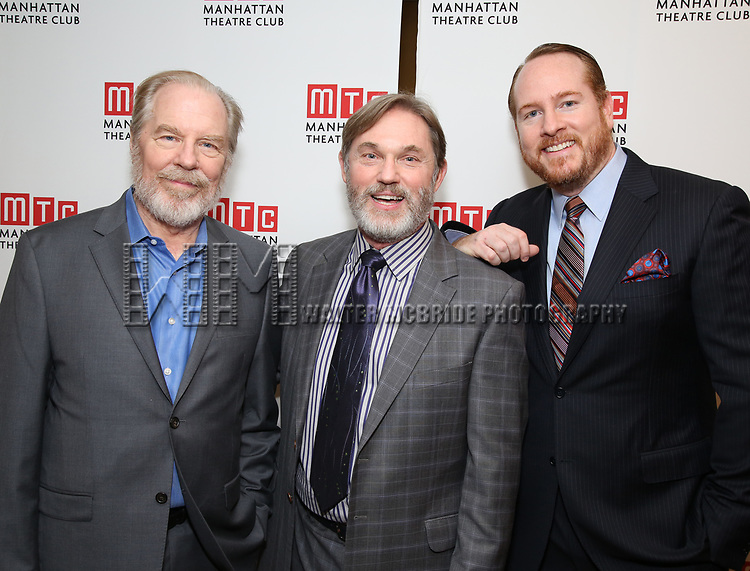 Michael McKean, Richard Thomas and Darren Goldstein attending the Broadway Opening Night After Party for 'The Little Foxes' at the Copacabana on April 19, 2017 in New York City.