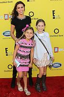 SANTA MONICA, CA, USA - NOVEMBER 16: Kaia Blasi, Rosa Blasi arrives at the P.S. ARTS Express Yourself 2014 held at The Barker Hanger on November 16, 2014 in Santa Monica, California, United States. (Photo by Celebrity Monitor)