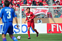 Daiki Iwamasa (Antlers), APRIL 19, 2011 - Football : AFC Champions League 2011 Group H, between Kashima Antlers 1-1 Suwon Samsung Bluewings at National Stadium, Tokyo, Japan. The game started at 2pm on Tuesday afternoon in Tokyo as Kashima are unable to use their home stadium as a result of the earthquake and tsunami that hit the east coast of Japan on March 11th 2011 and due to the ongoing nuclear crisis in Fukushima which has reduced the electricity supply to the region meaning that floodlit night games cannot be justified. (Photo by Jun Tsukida/AFLO SPORT) [0003].