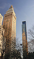 Metropolitan Life Insurance Company Tower and One Madison Park Designed by Cetra/Ruddy, Manhattan, New York City, New York, USA
