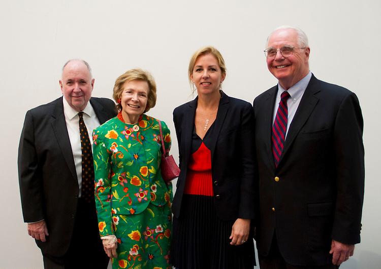 Arnold Lehman, Shelby White, Stephanie Ingrassia, John S. Tamagni (c)Jonathan Dorado