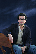 HISHAM MATAR, AMERICAN BORN, LIBYAN RAISED, AUTHOR, NOMINEE FOR 2006 BOOKER PRIZE. EDINBURGH INTERNATIONAL BOOK FESTIVAL. Saturday 27th August 2006. Over 600 authors from 35 countries are appearing at the Edinburgh International Book festival during 12th-28th August. The festival takes place in historic Edinburgh city, a UNESCO City of Literature.