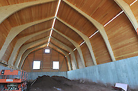 Milford Salt Shed and Stores Building Construction Progress Photography. Site vist 6 of once per month Cronological Documentation. 19 March 2010